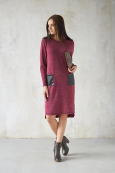 Трикотажное платье с карманами Шарлиз